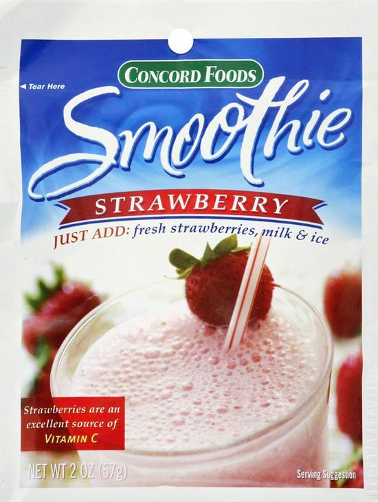 6 These Smoothie Packets. Easy To Make, Just Add The Entire Smoothie