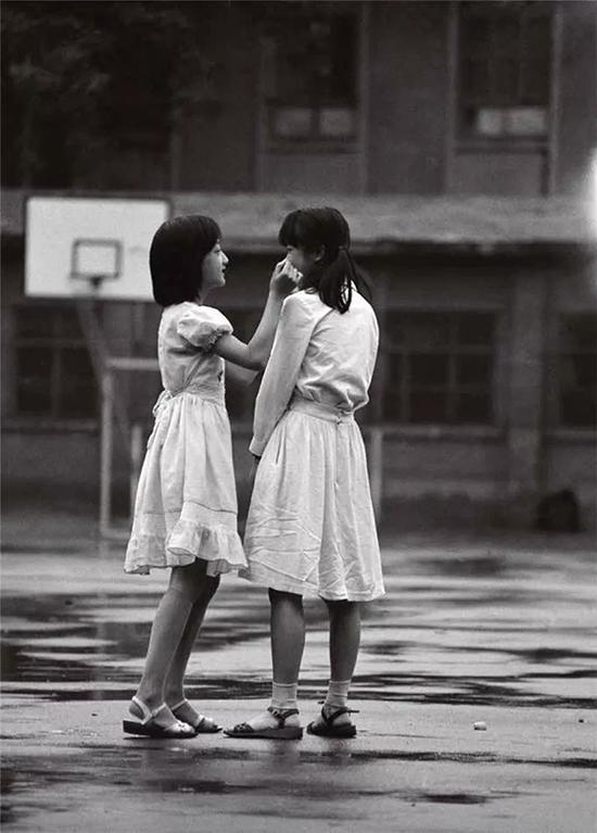 北京第一七一中学操场,1984年7月
