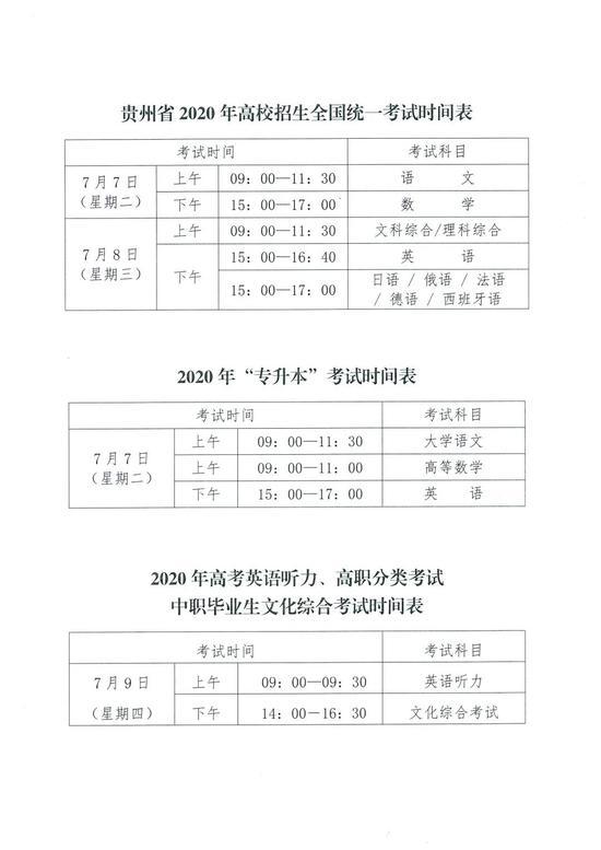 上海市教育考试院发布2020年高考考场规则