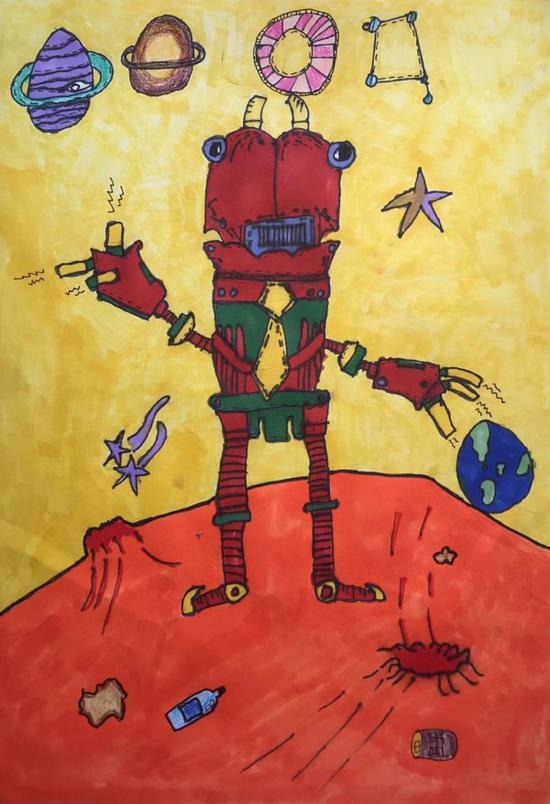这个暑假 让孩子做联合国公益小画家