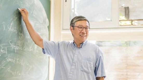 北京大学副校长、北京国际数学研究中心主任田刚