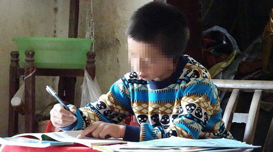 田森在学习 家属供图