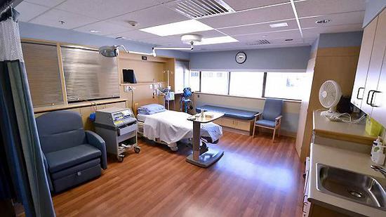 列治文医院病房