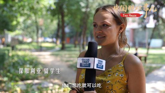 在华外国留学生聊起了他们的月饼初印象