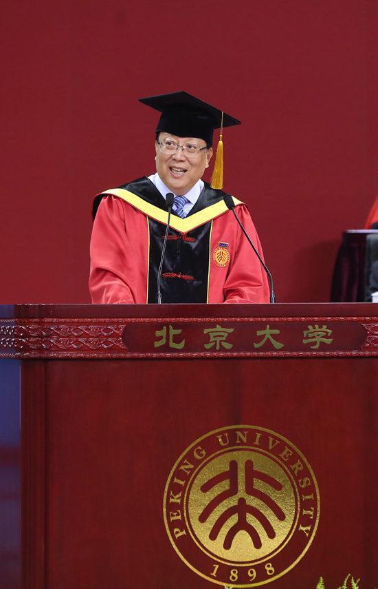 北京大学校长 郝平(北京大学/供图)