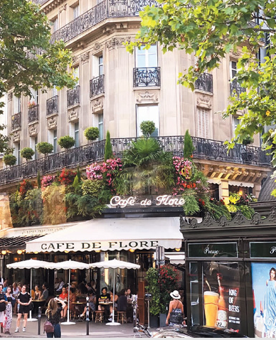 """巴黎的""""花神咖啡馆"""""""