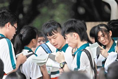如果广东高考综合改革方案按计划实施,那么新高一将面对至少四大变化。(资料图片)