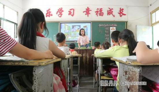"""一个班27人英语得满分 这个农村特岗教师有点""""牛"""""""