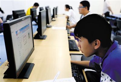 考生在填报志愿时要保持梯度,从高到低拉开档次。新京报记者 浦峰 摄