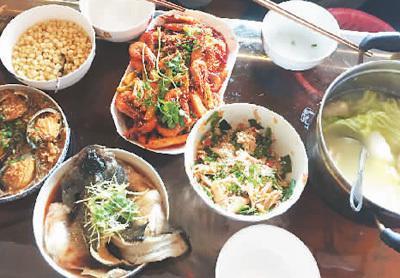 汪军瑶为奶奶做的饭
