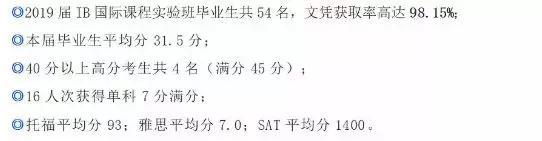 来自东北师大附中IB国际课程官微
