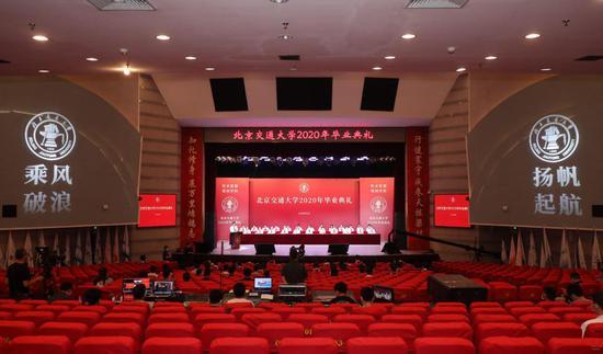 北京交通大学2020年毕业典礼举行