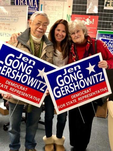 美华裔在伊州众议员初选获胜 盼华裔选民支持