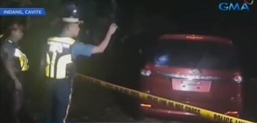 现场图(菲律宾GMA新闻视频截图)