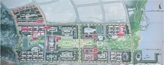 哈尔滨工程大学青岛创新发展基地规划图