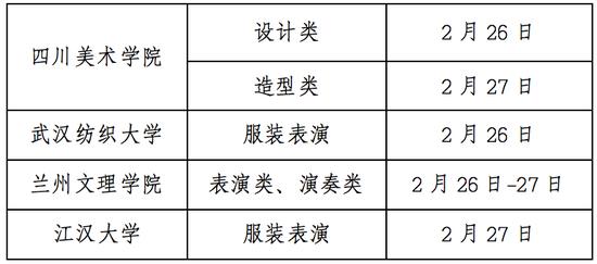 甘肃2021年普通高校招生艺术类专业校考考生指南