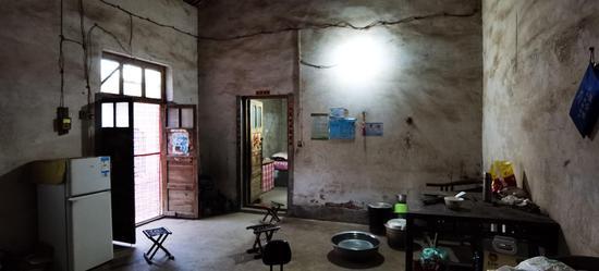 陈春秀的家是精准扶贫对象。新京报记者 齐超 摄
