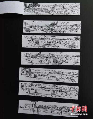 50岁男子为学绘画到美术学院当夜班保安