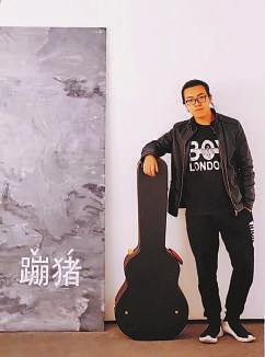 """周煜晖在杭州""""麦尖"""""""