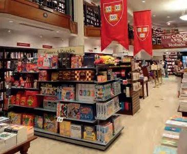 哈佛书店自1932年建立以来,便是剑桥市的一处地标