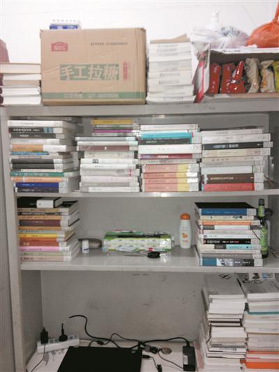 """中山大学""""书霸""""一学期借书623本"""