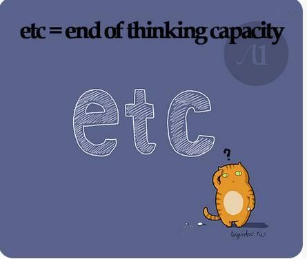 etc=end ofthinkingcapacity