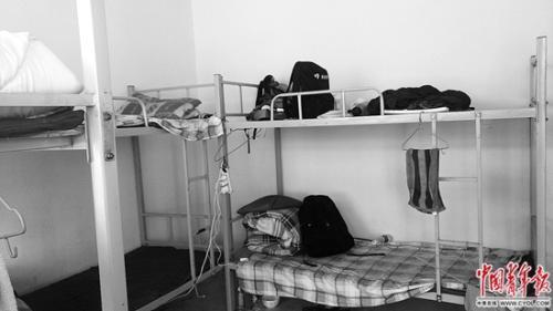 记者被安排入住的小院寝室。杨威/摄