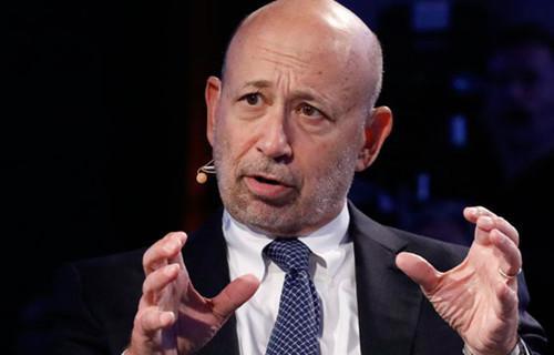 Goldman Sachs CEO Lloyd Blankfein was an unhappy lawyer.