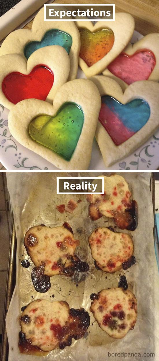 17.Stained glass cookie.