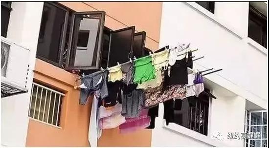 (澳洲也曾发生过华人家庭用晾衣杆晾衣服被邻居投诉的事件)