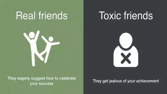 Real friends, they eagerly suggest how to celebrate your success.