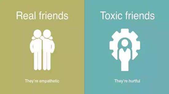 Real friends, they're empathetic.