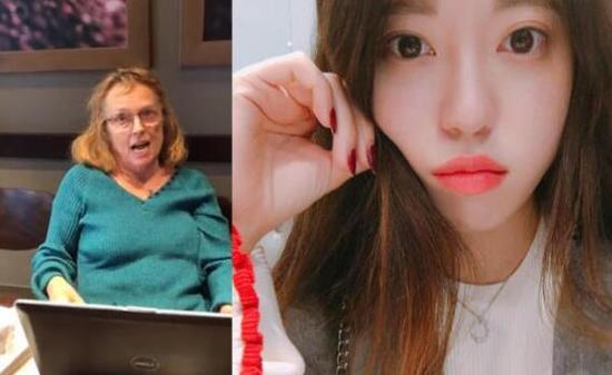 歧视亚裔的美国老太和韩国学生安妮