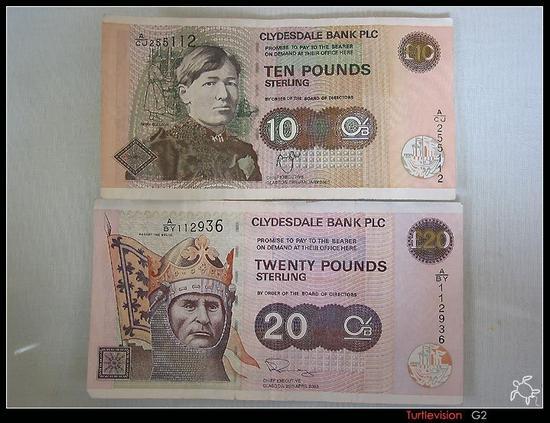 苏格兰的英镑