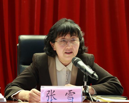 全国政协委员、北京市教育系统关心下一代工作委员会主任张雪 北京教育系统关心下一代工作委员会 资料图