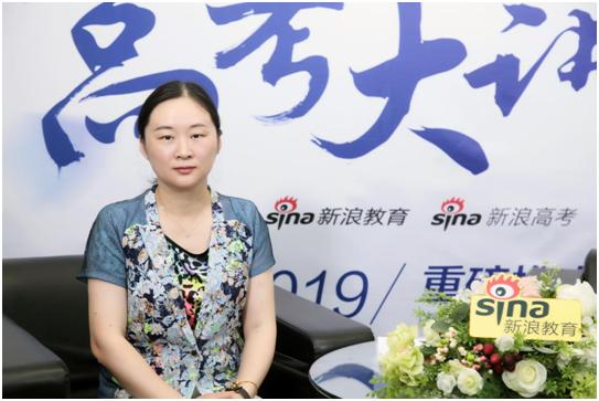 上海理工大学招生办公室主任李筠