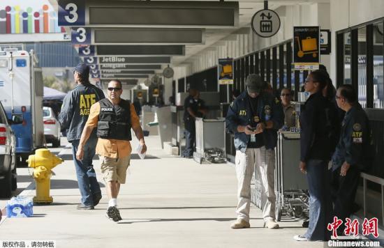 资料图:美国洛杉矶机场。