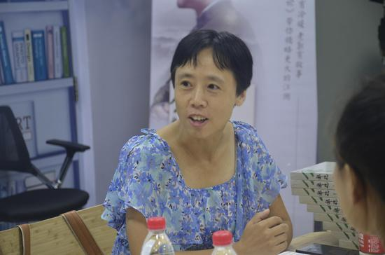 北京第二外国语大学的张琼老师发表感言