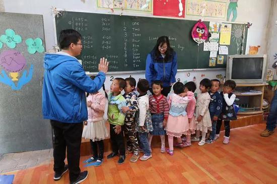 李胜年和孩子们