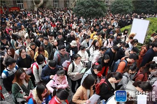 2019年国考现场 图片来源:新华社(刘建华 摄)