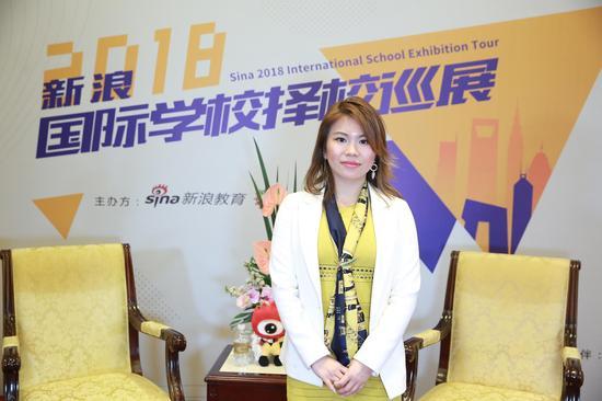 上海外国语大学留学中心的欧洲项目总监 范燕虹