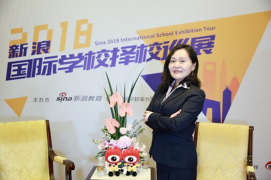 中加枫华国际学校校长 王文