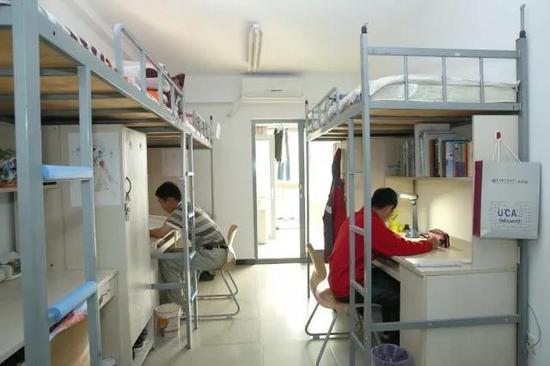玉泉路校区学生宿舍