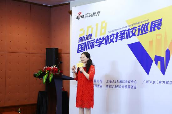 广东实验中学国际课程(SSIC)主管 何雪琴博士