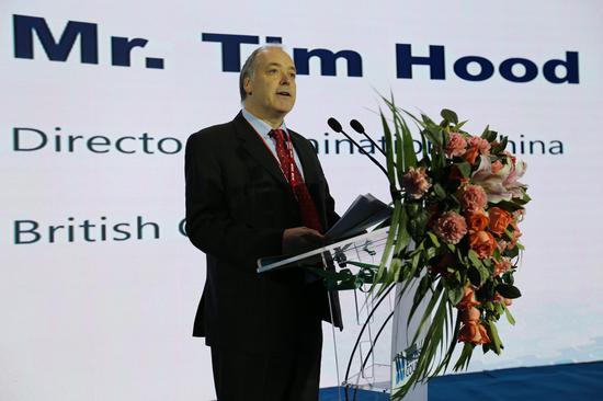 """英國文化教育協會中國考試業務總監Tim Hood在""""新方向""""研討會華北專場(大慶)致開幕辭"""