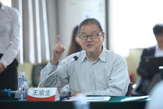 国家教育咨询委员会委员、中国科技馆原馆长、研究员王渝生发言