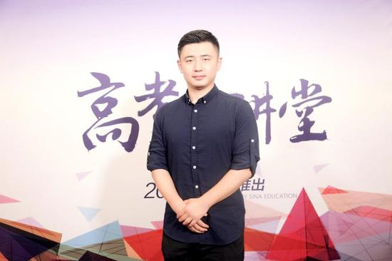 河海大学招办副主任: 蓝崑