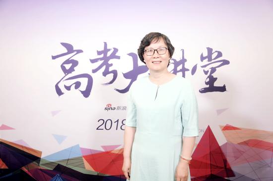 首都医科大学招生办主任:吴萍