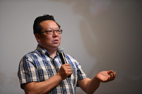 校美育中心主任、艺术与传媒学院院长胡智锋传统文化推广月开幕活动致辞