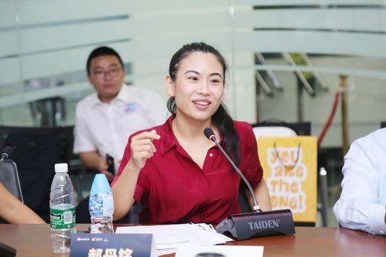 明启·国际研学旅行中心总经理郝丹铭